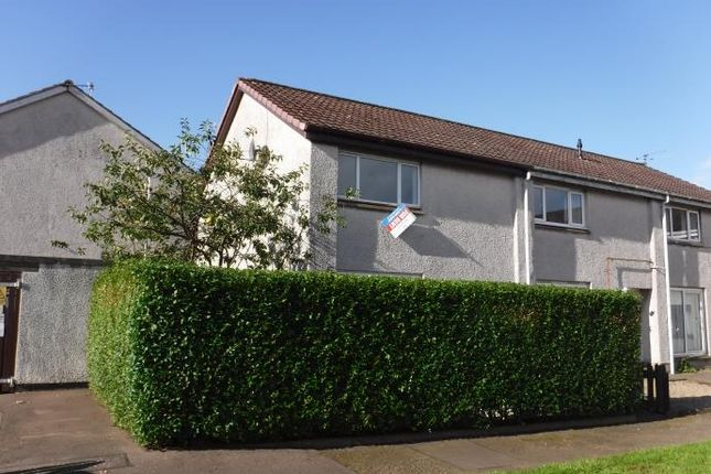 Thumbnail End terrace house to rent in Restenneth Drive, Forfar