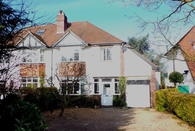 Thumbnail Semi-detached house for sale in Walsall Road, Little Aston, Sutton Coldfield