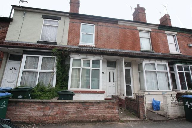 Thumbnail Terraced house to rent in Bramble Street, Coventry
