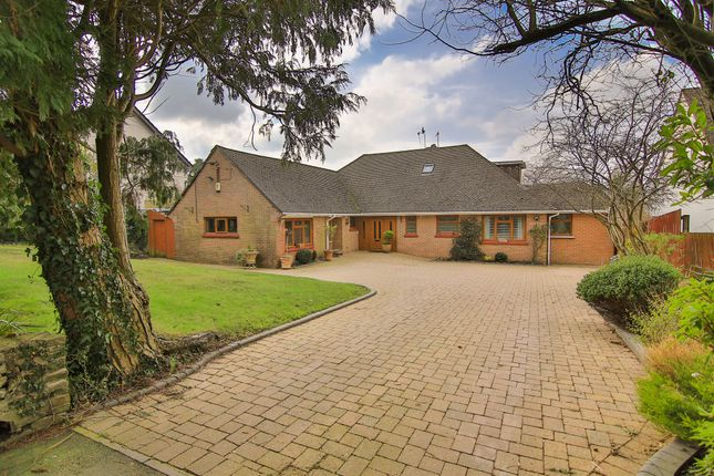 Thumbnail Detached bungalow for sale in Began Road, Old St. Mellons, Cardiff