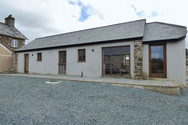 Thumbnail Barn conversion for sale in Chillaton, Lifton
