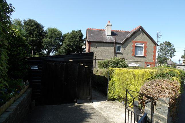 Thumbnail Detached house for sale in Dinas, Caernarfon, Gwynedd