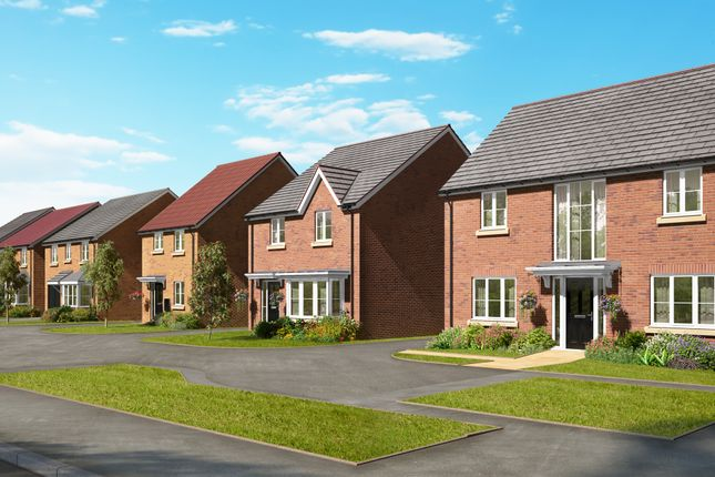 "Thumbnail Detached house for sale in ""The Grainger"" at Barff Lane, Brayton, Selby"