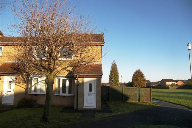 Thumbnail Semi-detached house to rent in Hazelmere Crescent, Cramlington