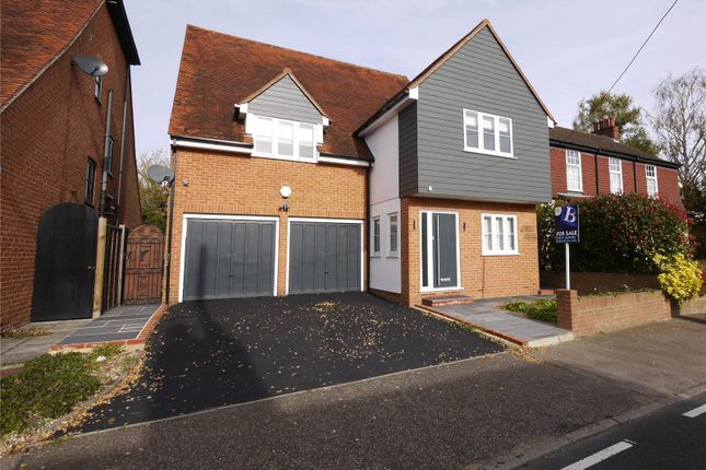 Thumbnail Detached house for sale in The Street, High Ongar, Ongar, Essex