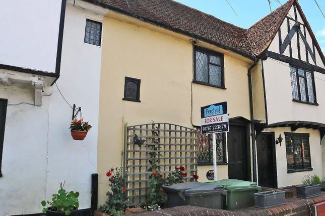 Thumbnail Terraced house for sale in Colneford Hill, White Colne, Colchester