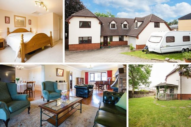Thumbnail Detached house for sale in Wern Road, Sebastopol, Griffithstown, Pontypool