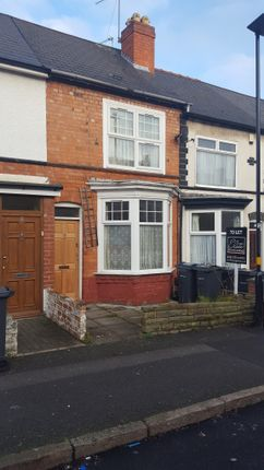 Thumbnail Terraced house to rent in Philip Sidney Road, Sparkhill, Birmingham