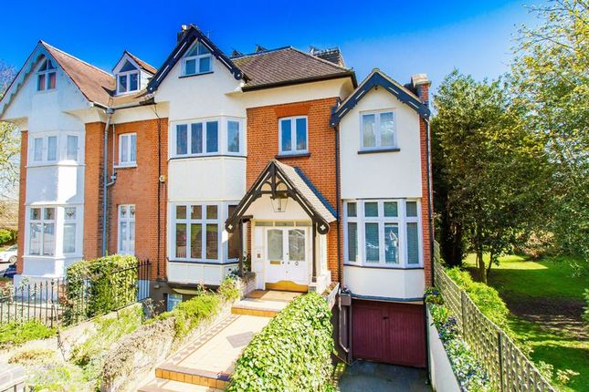 Thumbnail Semi-detached house for sale in Broomhill Road, Woodford Green