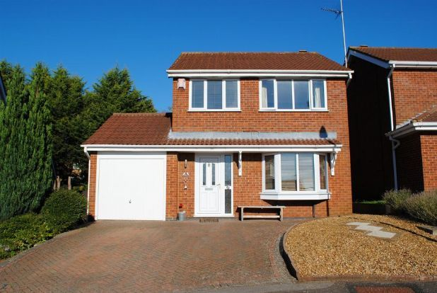 Thumbnail Detached house for sale in Martindale, Kingsthorpe, Northampton