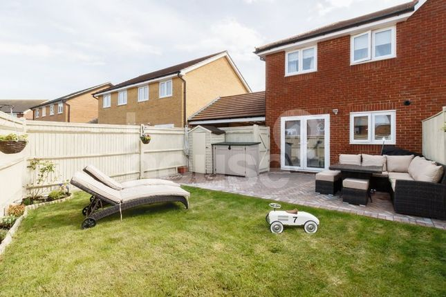 Thumbnail Semi-detached house for sale in Crocus Avenue, Minster On Sea, Sheerness