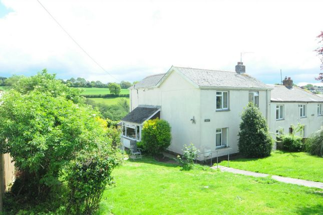 Thumbnail Semi-detached house to rent in Perranwell Station, Truro, Cornwall