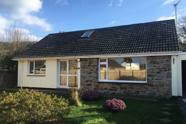 Thumbnail Bungalow for sale in Speedwell Close, Millbrook, Cornwall