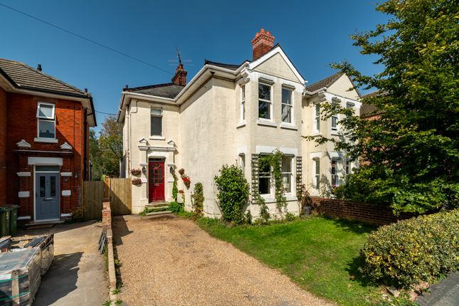 Thumbnail Semi-detached house for sale in Station Road, Netley Abbey