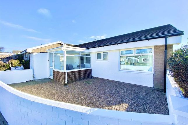 Thumbnail Semi-detached bungalow for sale in Felin Ban Estate, Cardigan, Ceredigion