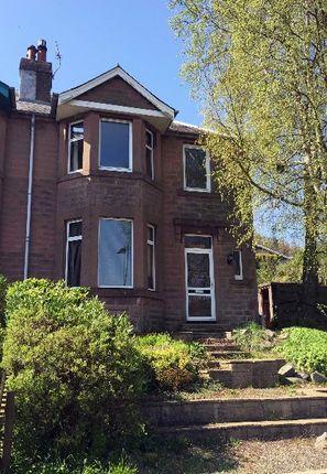 Thumbnail Semi-detached house to rent in Cherwell, Galashiels, Borders, 3Db