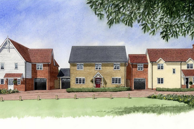 Thumbnail Detached house for sale in The Woodlark At Mandeville Place, Radwinter Road, Saffron Walden, Essex