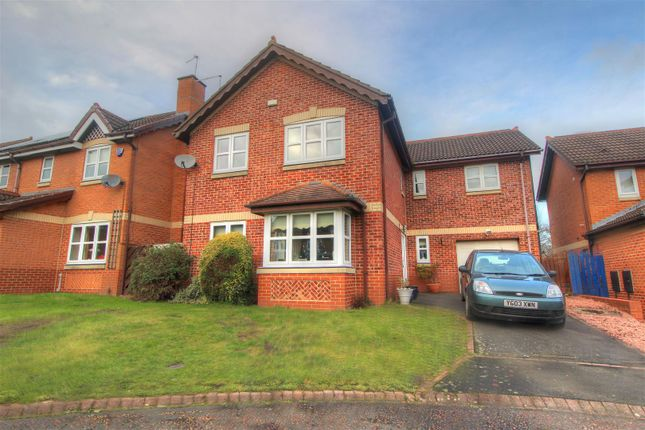 Thumbnail Detached house for sale in Milburn Close, Riverside Park, Chester Le Street