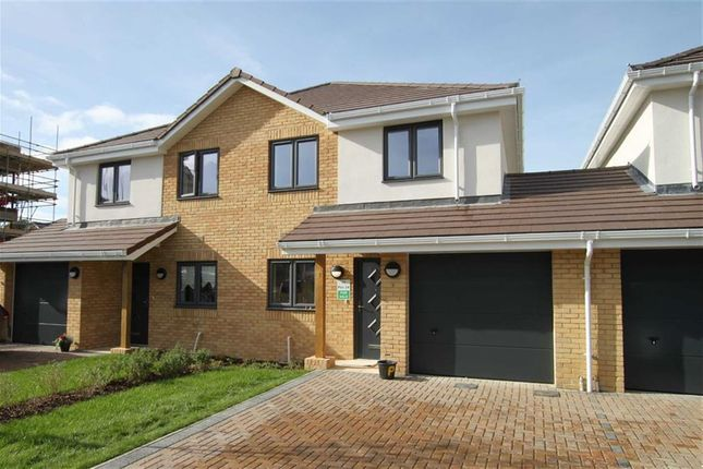 Thumbnail Semi-detached house for sale in Lassells Close, Highcliffe, Christchurch, Dorset