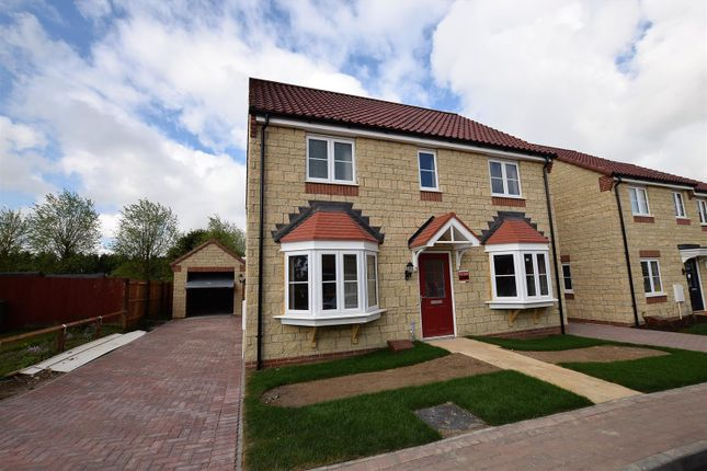 Thumbnail Detached house for sale in North Brook Close, Greetham, Oakham