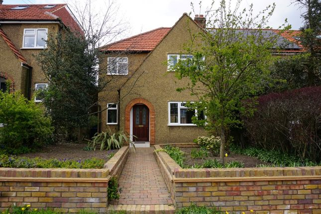 Thumbnail End terrace house for sale in Church Lane, Chessington