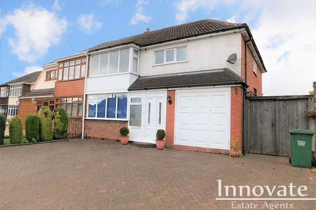 Thumbnail Semi-detached house to rent in Fairbourne Avenue, Rowley Regis