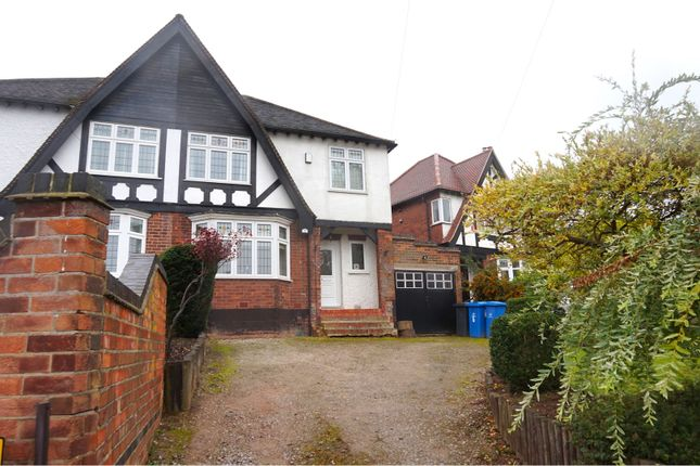 Thumbnail Semi-detached house for sale in Sunny Grove, Derby