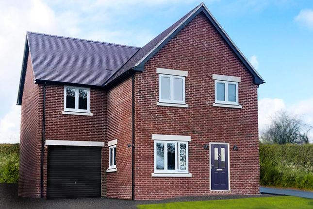 Thumbnail Detached house for sale in Plot 15 Young's Piece, Pontesbury, Shrewsbury
