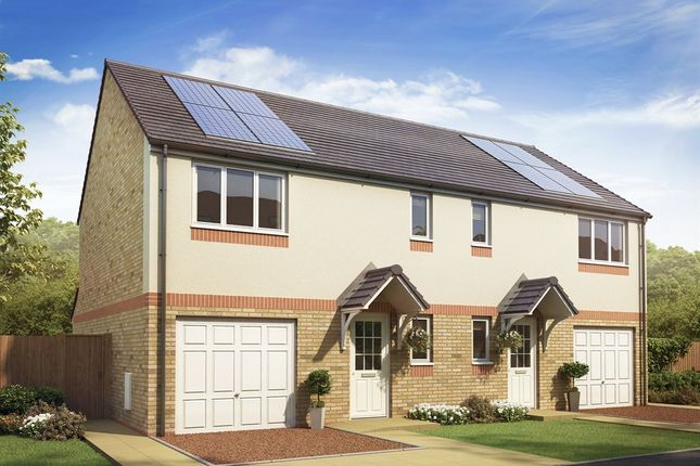 """Thumbnail Semi-detached house for sale in """"The Newton"""" at Boydstone Path, Glasgow"""