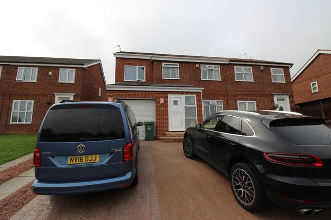 Thumbnail Semi-detached house for sale in Kings Court, Norton, Stockton-On-Tees