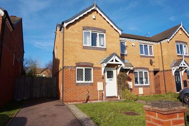 Thumbnail End terrace house for sale in Cranwell Grove, Erdington, Birmingham