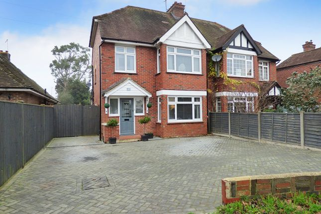 Thumbnail Semi-detached house for sale in Lyminster Road, Wick, Littlehampton