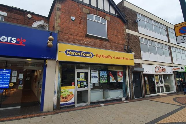Thumbnail Retail premises for sale in 112 High Street, Scunthorpe