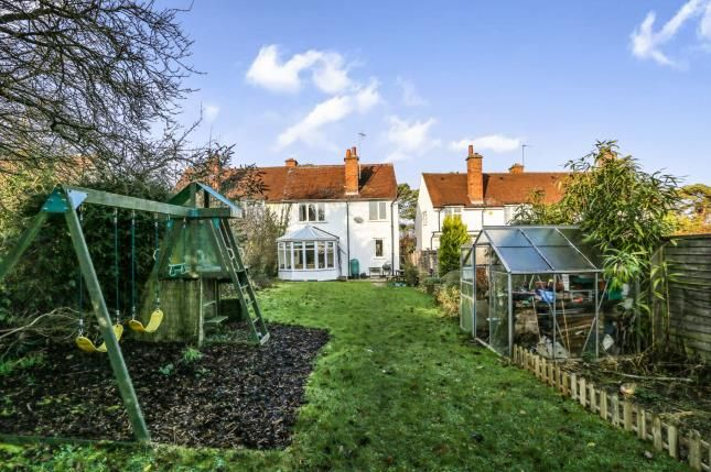 Thumbnail Semi-detached house for sale in Burnell Rise, Letchworth Garden City, Hertfordshire