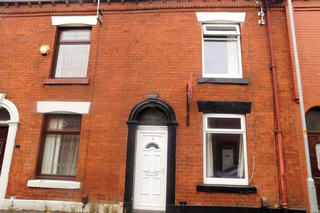 Thumbnail Terraced house to rent in Saxon Street, Oldham