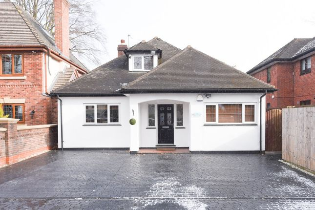 Thumbnail Detached bungalow for sale in Walsall Road, Four Oaks, Sutton Coldfield