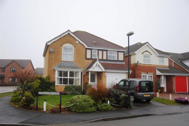 Thumbnail Detached house to rent in Longfellow Close, St Andrew's Ridge, Swindon