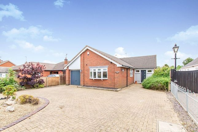 Thumbnail Bungalow for sale in Lutterworth Road, Blaby, Leicester