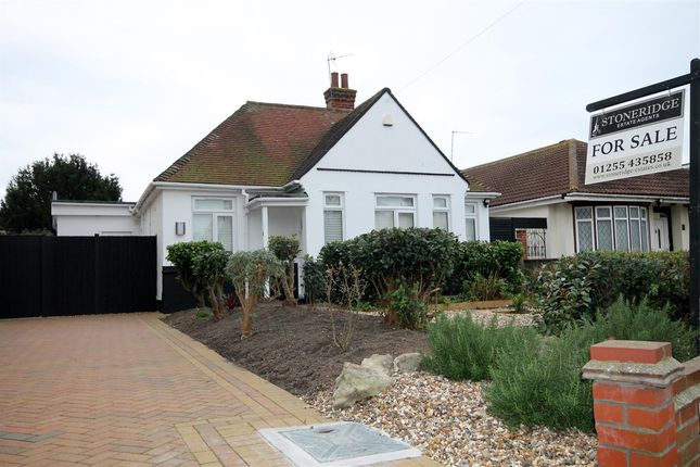 Thumbnail Bungalow for sale in Vicarage Gardens, Clacton-On-Sea