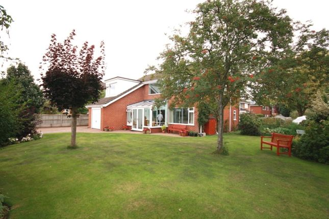 Thumbnail Detached house for sale in Ashbourne Heatley Lane, Broomhall, Nantwich