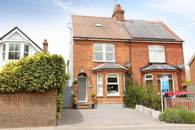 3 bed semi-detached house to rent in Dover Road, Ringwould, Deal CT14