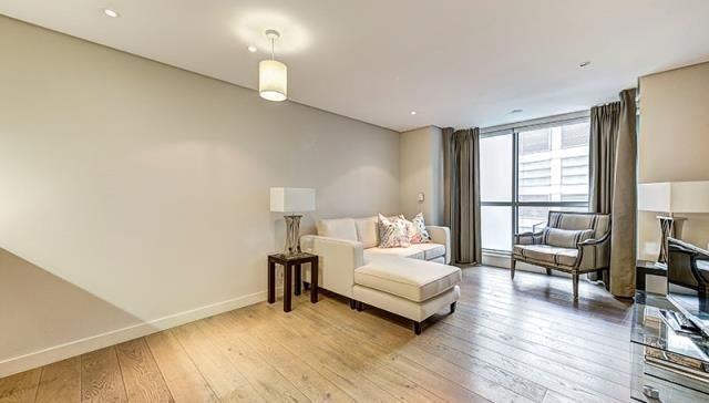 Thumbnail Flat to rent in Merchant Square East W2,