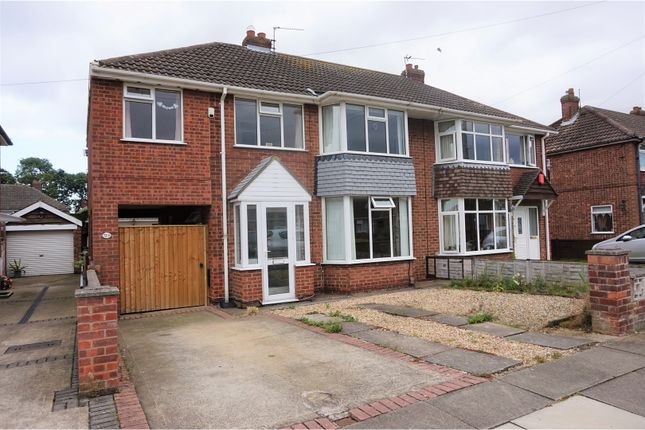 Thumbnail Semi-detached house for sale in Worlaby Road, Scartho
