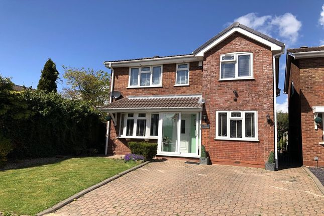 Thumbnail Detached house for sale in Springbrook Close, Birmingham