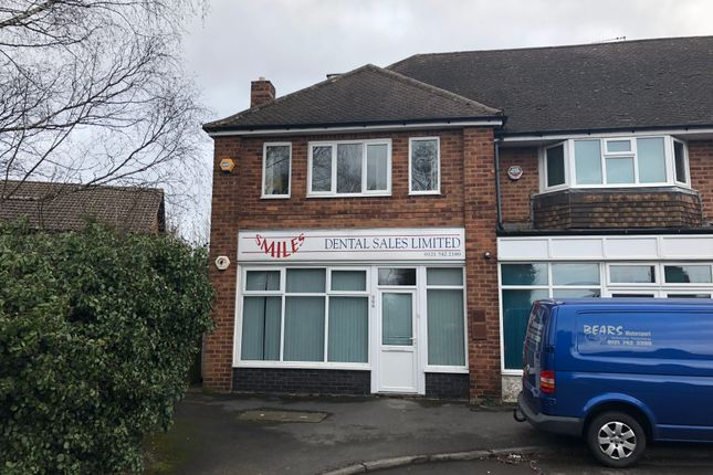 Thumbnail Office to let in Old Lode Lane, Solihull