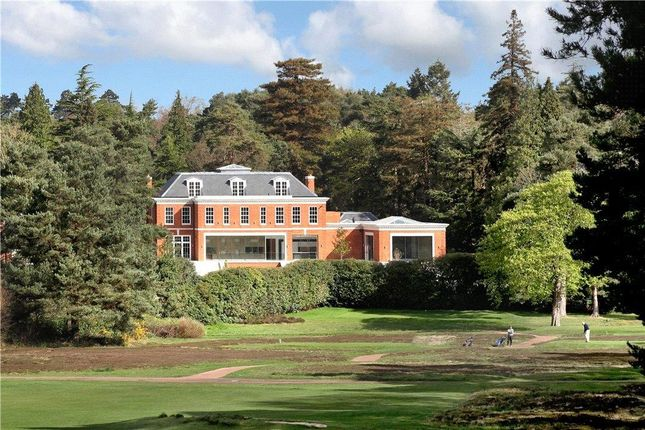 Thumbnail Detached house for sale in Cavendish Road, St George's Hill, Weybridge, Surrey