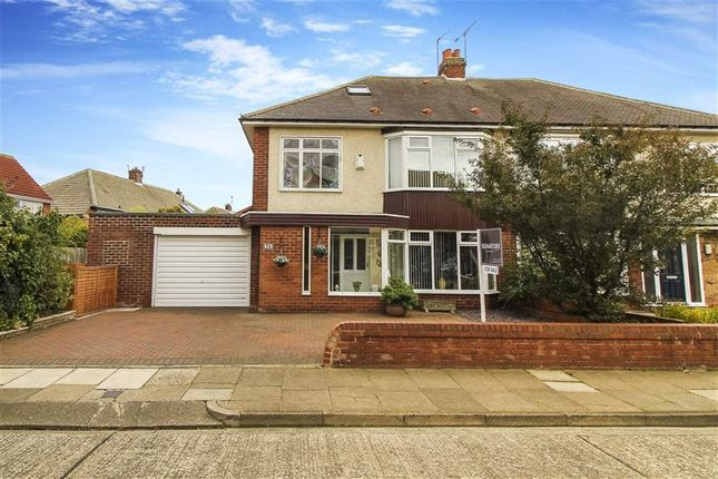 Thumbnail Semi-detached house for sale in Millview Drive, Tynemouth, Tyne And Wear