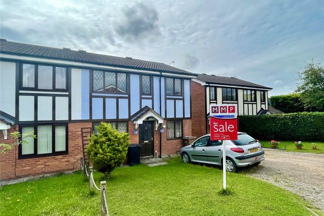 Thumbnail Semi-detached house for sale in Roundwood Close, Oswestry, Shropshire