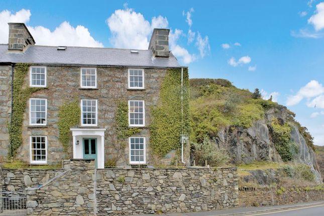 4 bed semi-detached house for sale in Aberamffra Road, Barmouth, Gwynedd. LL42