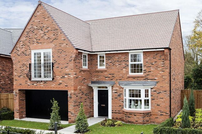 "Thumbnail Detached house for sale in ""Shelbourne"" at Adlington Road, Wilmslow"